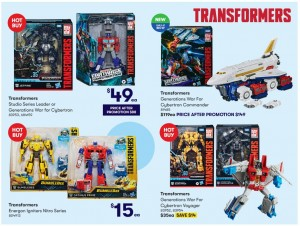 Big Transformers Sale at Big W in Australia Including New Skylynx and 44% off Leader Class Toys