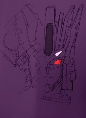 TFYuki Teases Sketch of Takara Transformers Unite Warriors Victorion Head