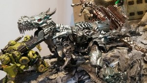 Wonderfest 2018 - Transformers Studio Series Leader Grimlock Diorama, Optimus Prime and More #wf2018w #ワンフェス2018冬