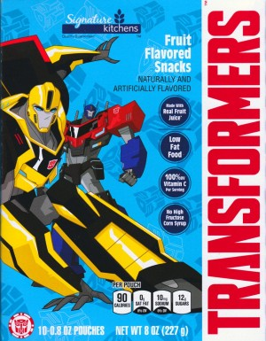 Transformers: Robots in Disguise Fruit Snacks Coming Soon!