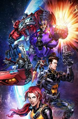 Transformers News: IDW Revolutionaries #1 iTunes Preview