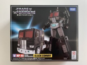 New MP-49 Masterpiece Black Convoy Packaging Image