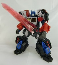 New Color Images of MakeToy 'Tank' - RTS Optimus Prime Upgrade Set