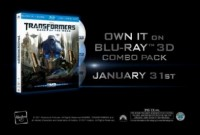Transformers News: Transformers Dark of the Moon Ultimate Edition Blu-ray 3-D Combo Pack Trailer