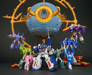 New Gallery: Transformers War for Cybertron Trilogy UNICRON (Part 1: Planet Mode)
