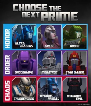 Transformers News: New 'Power of the Primes' Fan Vote Now Open, Full Bios Revealed