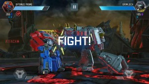 Screenshots of Kabam Transformers: Forged to Fight Mobile Game