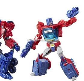 Additional Stock and Packaging images of Transformers: Tribute Optimus Prime and Orion Pax Set