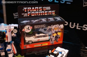 Transformers News: Gallery and Video for Transformers-Ghostbusters ECTO-1 Ectotron at 2019 New York Toy Fair #tfny #hasbrotoyfair