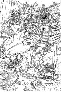 Transformers News: Original Ulises Farinas Transformers Artwork for Sale