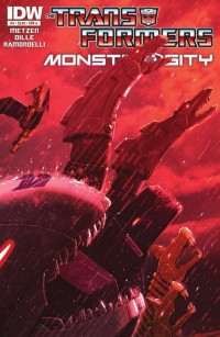 Transformers News: Transformers: Monstrosity #3 (of 4) Preview