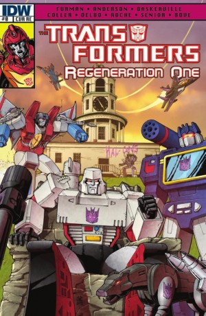 Transformers News: Casey Coller and JP Bove ReGeneration One #0 Cover Makes the News