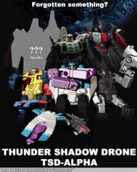 "TSD-Alpha ""Thunder Shadow Drone"" Robot Kit"