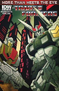 Transformers News: Seibertron.com Reviews IDW Transformers: More Than Meets The Eye #10 - Shadowplay II