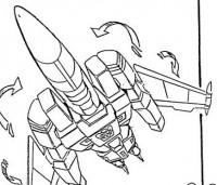 Transformers News: Ark Addendum Update - Metalhawk's Transformation Sequence