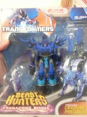Target Exclusive Transformers Beast Hunters Predacons Rising Cryofire Predaking & Cyberverse Night Shadow Bumblebee VS Blight Released
