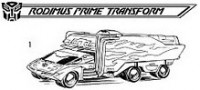 Transformers News: The Ark Addendum update:  Rodimus Prime's extended transformation