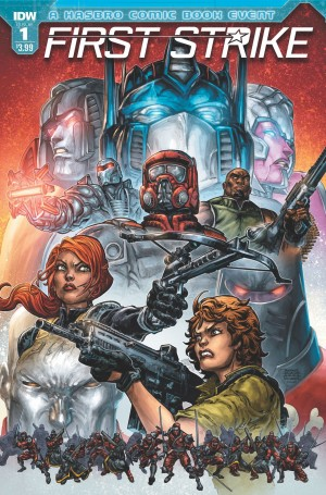 IDW Hasbro Universe First Strike TPB Listing on Amazon.com - SPOILERS