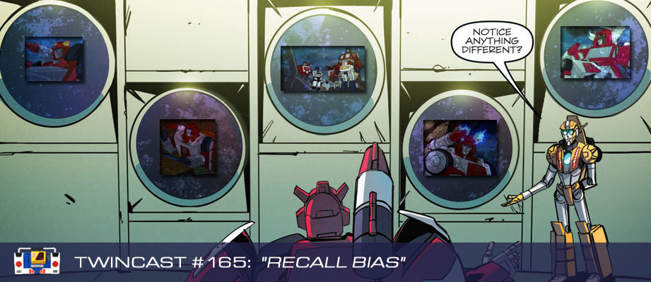 "Twincast / Podcast #165 ""Recall Bias"""