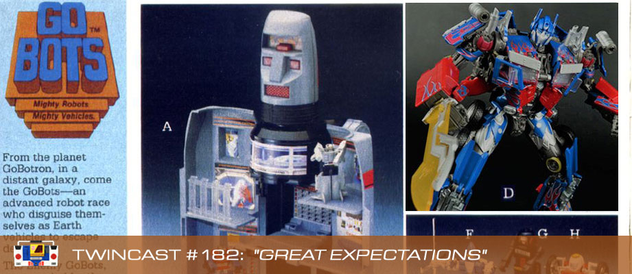 Transformers Podcast: Twincast / Podcast #182 - Great Expectations
