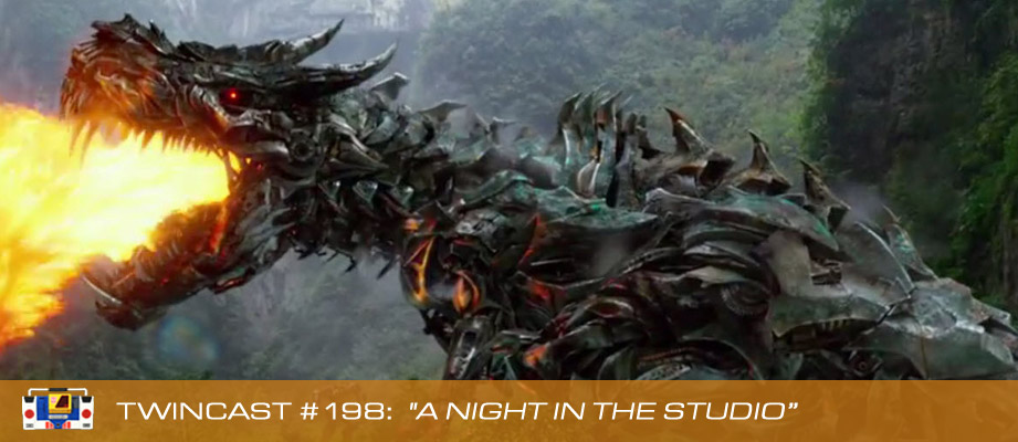 Transformers Podcast: Twincast / Podcast #198 - A Night in the Studio