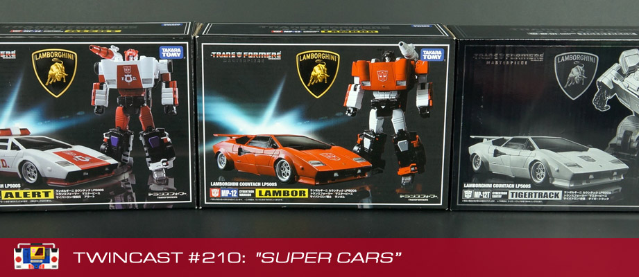 Transformers Podcast: Twincast / Podcast #210 - Super Cars