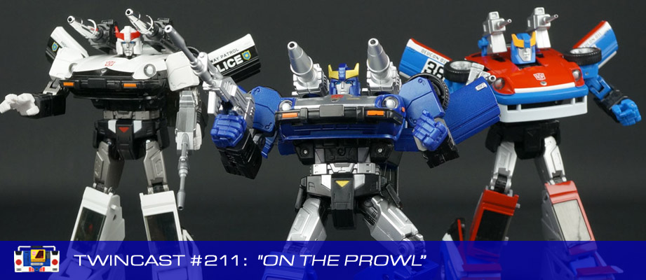 Transformers Podcast: Twincast / Podcast #211 - On The Prowl