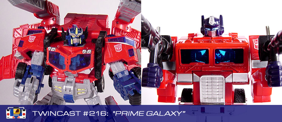 Transformers Podcast: Twincast / Podcast #216 - Prime Galaxy