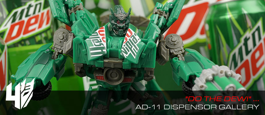 New Gallery: Age of Extinction Movie Advanced AD-11 Dispensor from Takara Tomy