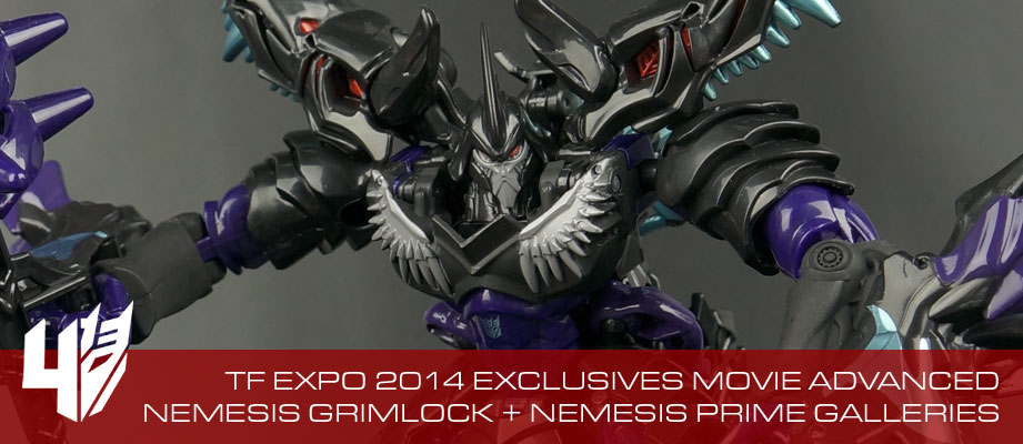 New Galleries: Transformers Expo 2014 Nemesis Grimlock and Nemesis Prime Exclusives