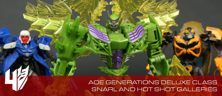 New Galleries: AOE Generations Hot Shot, Snarl, and Movie Advanced AD28 Snarl