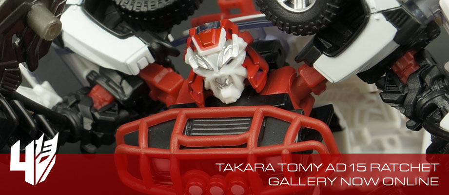 New Gallery: Age of Extinction Movie Advanced AD-15 Ratchet from Takara Tomy
