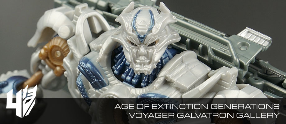 New Galleries: Transformers Age of Extinction Voyagers Autobot Hound and Galvatron