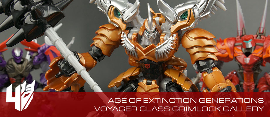 New Gallery: Age of Extinction Generations Voyager Grimlock