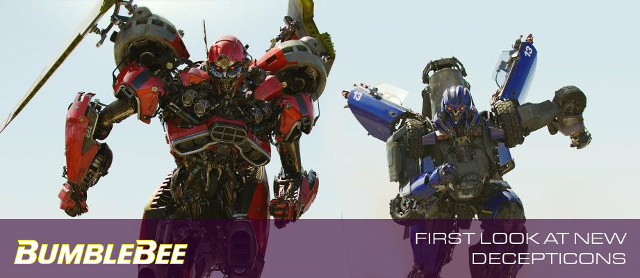 First Look at Two Decepticon Muscle Car Transformers from Bumblebee Movie