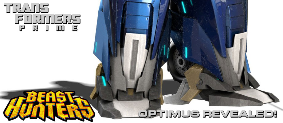 Transformers Prime Beast Hunters Optimus Prime REVEALED!