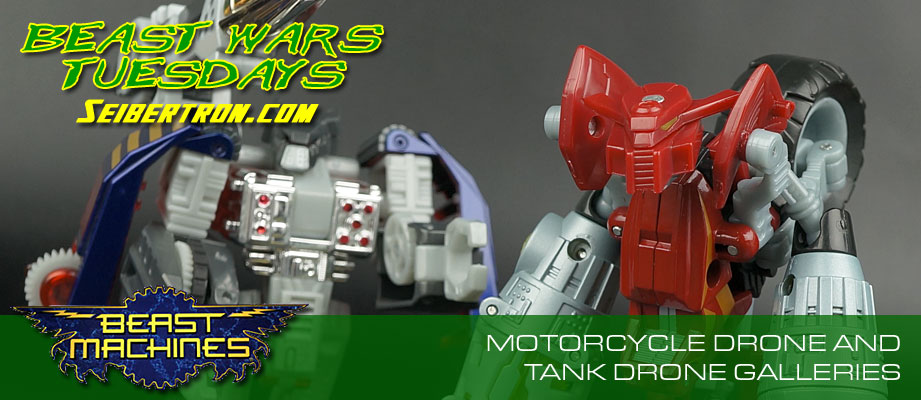 New Galleries: Beast Machines Tank Drone and Motorcycle Drone