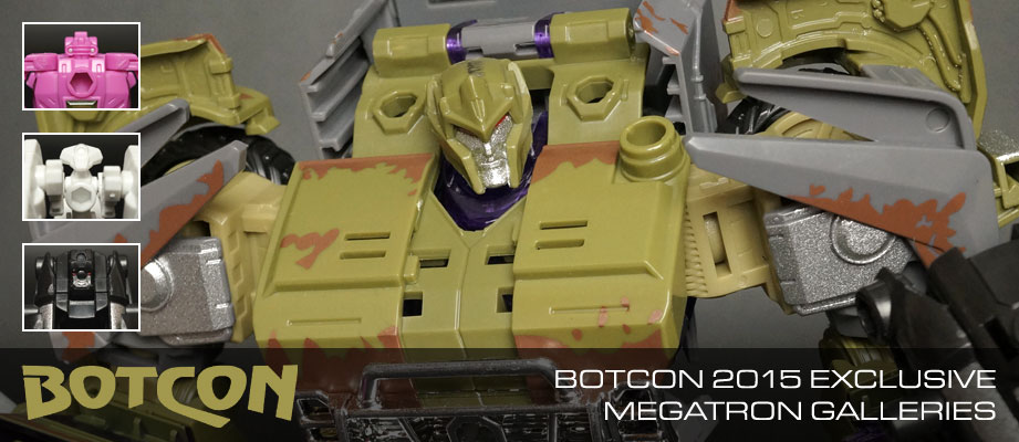 New Galleries: BotCon 2015 Exclusive Megatron with Scalpel, Boombox, and Heavyweight