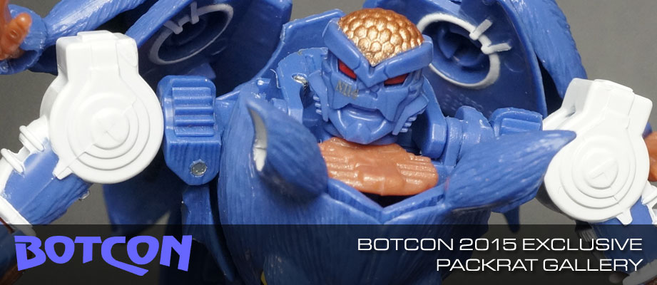"New Gallery: BotCon 2015 Packrat ""The Thief"""