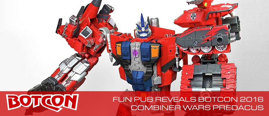 Botcon 2016 Dawn of the Predacus Combiner Image