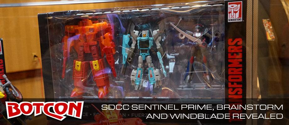 Titans Return Updated Images: Fort Max Diorama, Sentinel, Windblade, Brainstorm