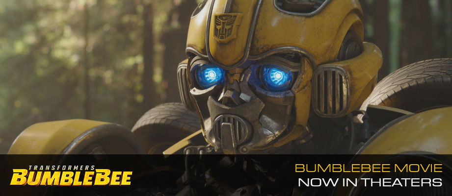 Bumblebee Movie ... now in theaters!!!