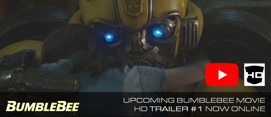 Transformers Bumblebee: Movie Trailer Now Online! #BumblebeeMovie