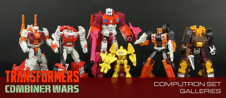 New Galleries: Combiner Wars Computron set with Technobots and Scrounge