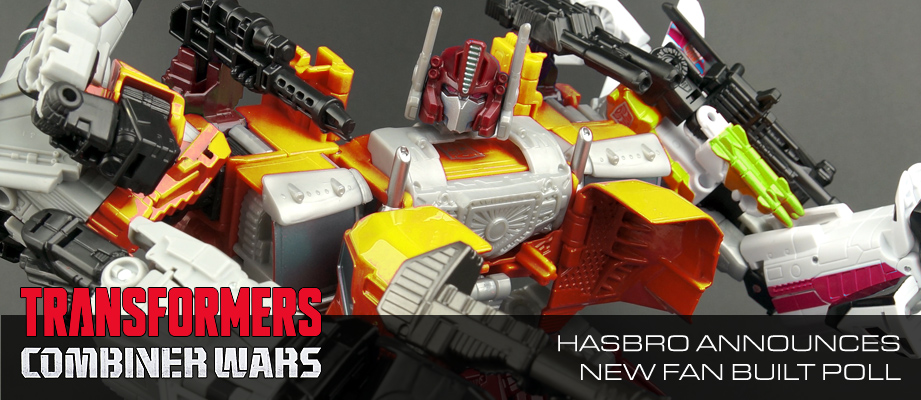 Transformers News: Hasbro Invites Transformers Fans To Create Massive Transformers Character To Enlist In Combiner Wars