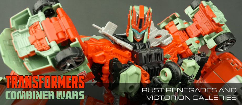 New Galleries: Combiner Wars Victorion and the Rust Renegades plus Legends Class Wreck-Gar