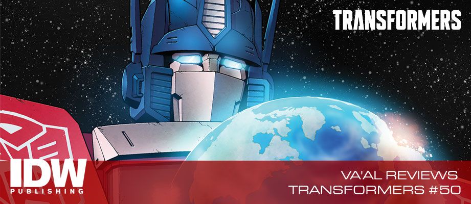 Review of Transformers #50 from IDW