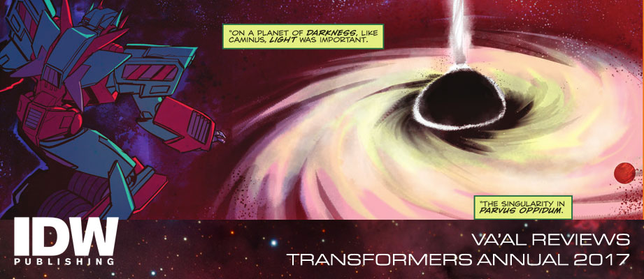 Review of Transformers Annual 2017 from IDW