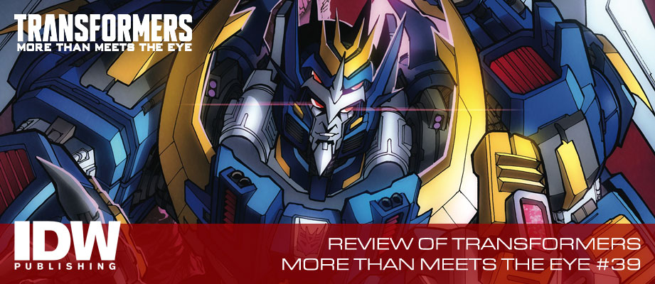 Review of IDW Transformers: More Than Meets the Eye #39