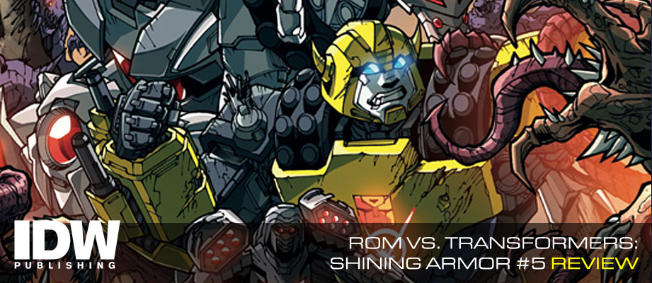 Review of IDW Rom Vs. Transformers: Shining Armor #5 [Final Issue]